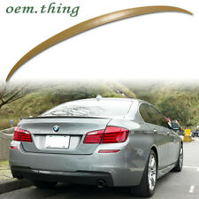 IN STOCK USA BMW 5-Series SEDAN F10 M5 REAR TRUNK LIP SPOILER ABS 520i 525d
