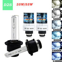 2PC 35W 55W 12V D2S D2C Hid Car Xenon Headlight Replacement Bulbs Bright Lamps