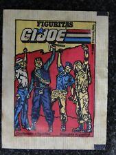 G.I. JOE. ARGENTINA TRADING CARD FULL PACK 1980s