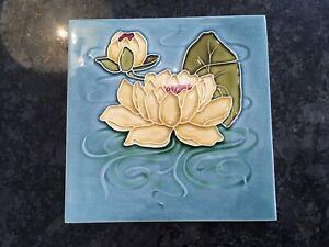 Art Nouveau Hand Embossed Tile