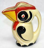 Vintage Deco Ceramic Toucan Creamer Pitcher ~ Made in Japan