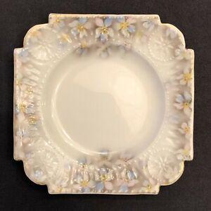 Antique Imperial Russian Gardner Kuznetsov Factory Design Porcelain Plate Saucer