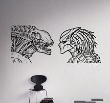 Aliens vs Predator Wall Vinyl Decal Sticker Removable Home Art Decor 25(nse)