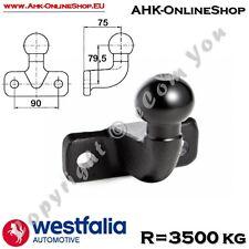 ISO50 Boule d'Attelage équerre pour remorque dia 50mm quad tracteur WESTFALIA