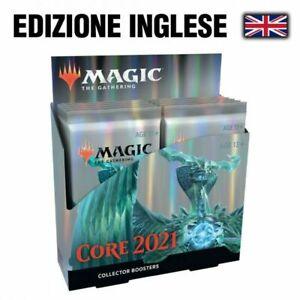 Magic Core Set 2021 Box da Collezione Collector 12 Buste in Inglese mtg Base