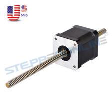 Nema 17 Stepper Motor Non Captive Linear Actuator 168a Lead Screw Length 200mm