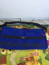 Vintage POLO SPORT Duffel Bag Ralph Lauren USA Track & Field Big Spell Out Logo