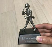 Vintage JOHNNIE WALKER WHISKY Advertising FIGURAL Silver Display Novelty Retro