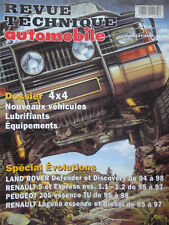 REVUE TECHNIQUE EVOLUTION LAND ROVER DEFENDER ET DISCOVERY DE 1994 A 1998