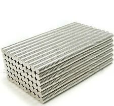 100pcs Strong Disc D2x1mm Round Rare Earth Permanent Nd-Fe-B Hot Sale Magnets