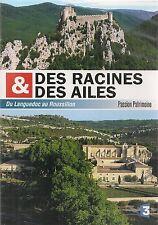 """DVD """"DES RACINES ET DES AILES du Languedoc au Roussillon"""" NEUF SOUS BLISTER"""