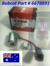 Bobcat Coil 10 V 6678891 753 763 S130 T190 A220 S150 S160 S175 S185 T180 Nut inc