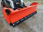 NEW HLA 3230W SERIES 8' SNOW WING PLOW FOR SKID STEERS, FLEX EDGE, 96'-156' WIDE