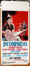 locandina film INCOMPRESO Luigi Comencini Anthony Quayle 1966 art Cesselon