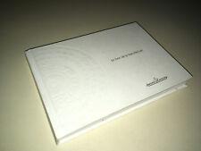 JAEGER LE COULTRE Le livre de la Manufacture EDITION 2000/2001 avec TARIFS DC13A