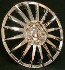 NEW Chrome Style 15 inch Wheel Rim Trims Hub Caps 0002 Free Post