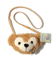 Tokyo Disney Duffy Bear Face Plush Shoulder Bag