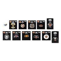 Harley-Davidson Tel-Aviv Israel Collectors 12 Different Metal Pins,