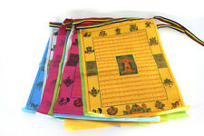 Tibetan Buddhist Prayer Flag - Shakyamuni Buddha Scriptures 10 Pieces/ 2.8 meter