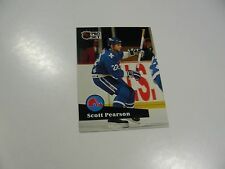 Scott Pearson 1991 NHL Pro Set (French) card #208