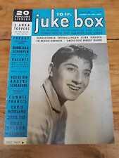 JUKE BOX No46 '60 Belgian Magazine Elvis Anka Rocco Francis Sinatra Day