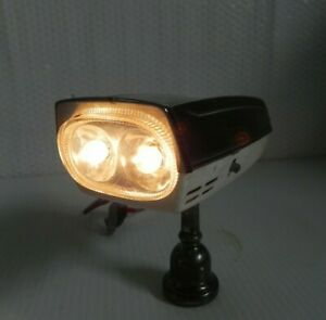 Vintage 1950s 60s ENWELL Bicycle Twinlite Horn & Headlight working Japan