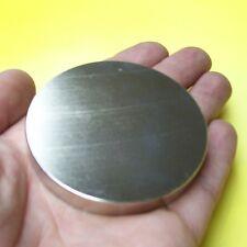 2 Stück Neodym Magnete N45 rund 80x10 mm hoch 2 x 300 kg SUPERMAGNET Magnet