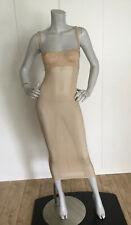 Dolce & Gabbana Neutral Corset Lingerie Slip Dress Bustier Size IT 36
