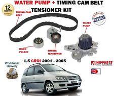 FOR HYUNDAI MATRIX 1.5 CRDI 12v 2003-2005 TIMING CAM BELT KIT + WATER PUMP SET