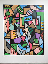 """FINAL PRICE REDUCTION John Rosa """"Cash"""" Hand Signed & Numbered Screenprint !"""