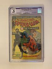 Amazing Spider-Man #129 (1974) 1st Punisher COMPLETE CGC .5 RESTORED
