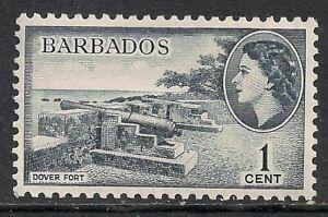 BARBADOS 1953-61 SG289 1c. DOVER FORT  -  MNH