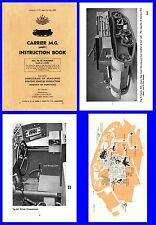 Carrier Machine Gun ( Bren Gun ) Australian Instruction Book 1943 on CD