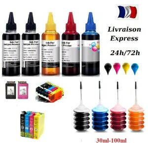100ml Refill Ink for HP Canon Samsung Lexmark Dell Brother Inkjet Printer x 1