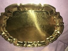 Towle Lacquered Brass Tray