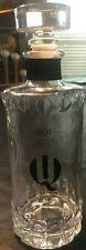 Qui Platinum Extra Anejo Tequila Empty Bottle 750 Ml w/Glass Stopper & Box