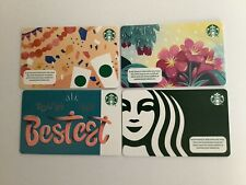 Geschenkkarte Starbucks Türkei 🇹🇷 # 7289 Set von 4 Karten