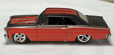 Hot Wheels Phil's Garage '66 Chevy Nova 1/64 Real Riders Chase Scratch & Dent