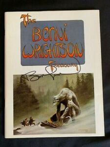 BERNIE WRIGHTSON TREASURY HAND SIGNED RARE PORTFOLIO INDEX INTERVIEW COMICS 1975