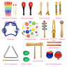 20X Educational Wooden Percussion Kids Baby Toddler Musical Instrument Toys