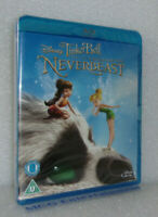 Tinker Bell and the Legend of the NeverBeast (Blu-ray, 2015) Disney - New/Sealed
