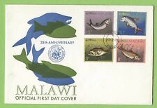 Malawian Fish African Stamps