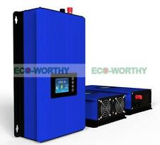 1000W Solar on Grid Tie Inverter Power Limiter, MPPT PV System DC 45-90V