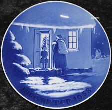 1958 BING & GRONDAHL / ROYAL COPENHAGEN PIATTO DI NATALE TOP PRIMA SCELTA