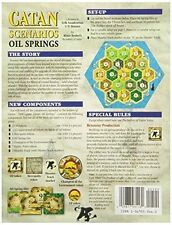 Settlers of Catan: Oil Springs scenario mini expansion New