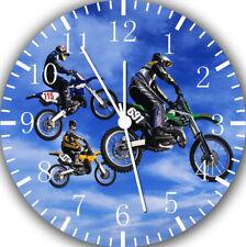 Motor Cross Frameless Borderless Wall Clock For Gifts or Home Decor E131