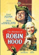 THE ADVENTURES OF ROBIN HOOD  (Errol Flynn) (DVD) UK compatible sealed