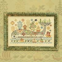 New Sealed Cross Stitch Hand Embroidery Kit Miracle Whale Fantasy Sampler