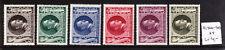 Alemania Deutsches Reich 1943 mi (approx. 3126.96 km) Nr. 844-849 Hitler's 54th Cumpleaños estampillada sin montar o nunca montada