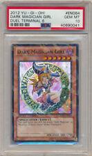 PSA 10 Yugioh Duel Terminal Super Rare Dark Magician Girl DT06-EN064 GEM MINT!!